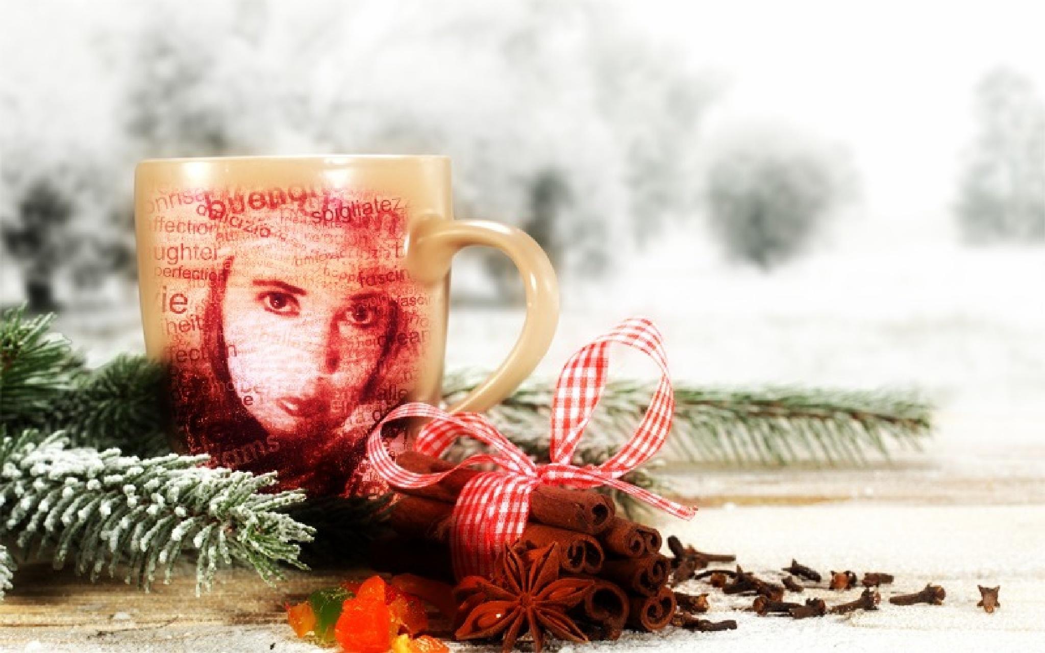 Hot Cinnamon Tea by Jen Sulser