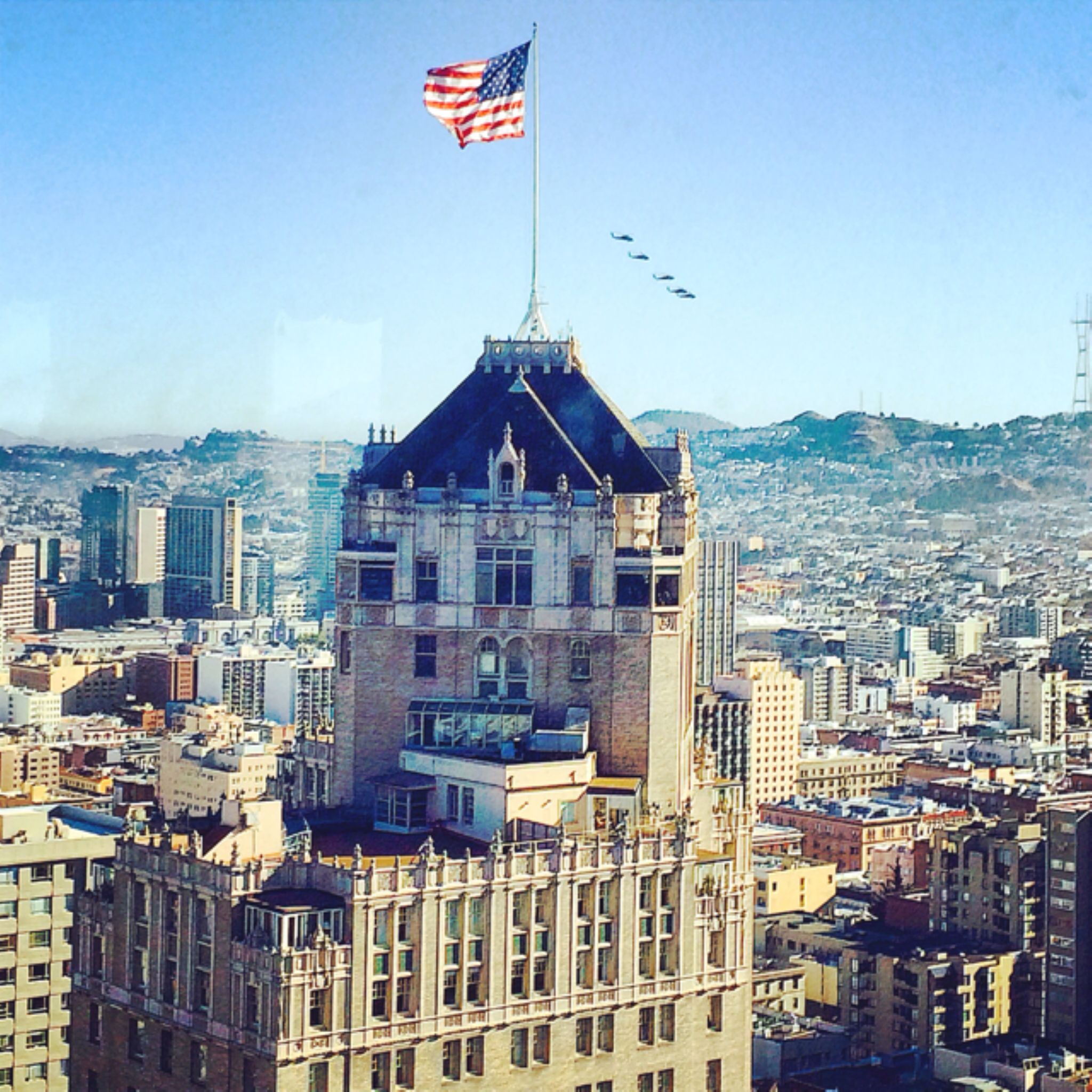 High SF and 5 helicopters by davidperea