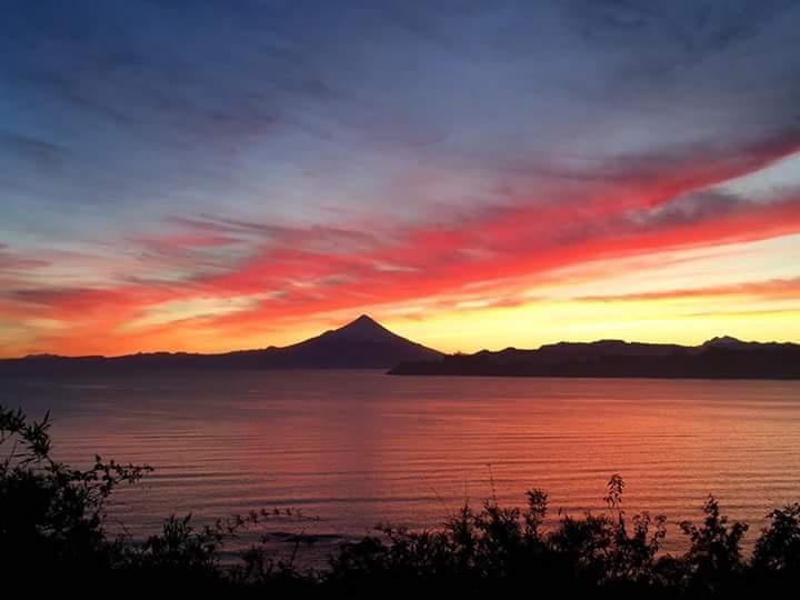 sunrise in Puerto varas  by Tor Johansen