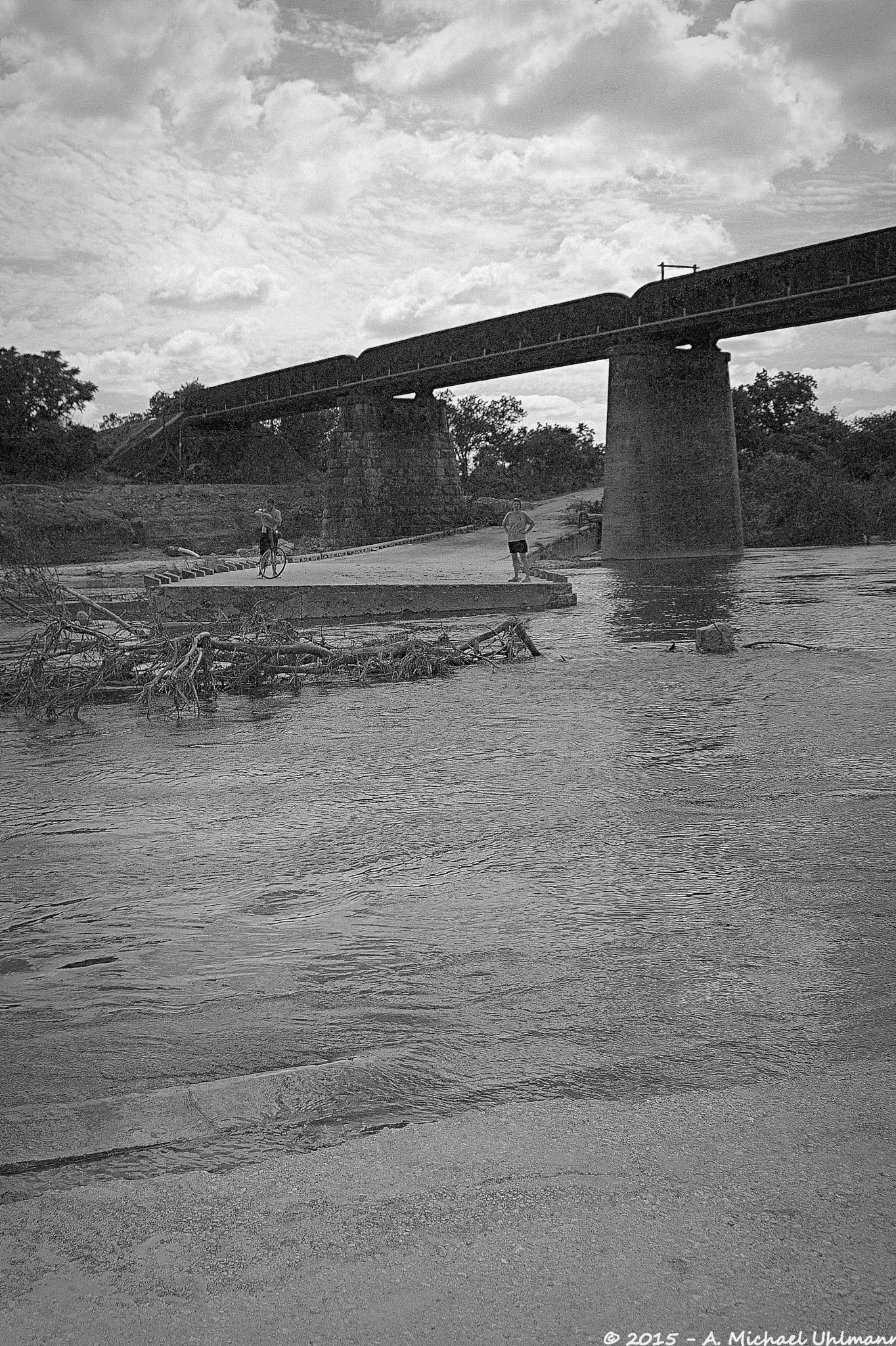 Texas Flood 4 by A. Michael Uhlmann