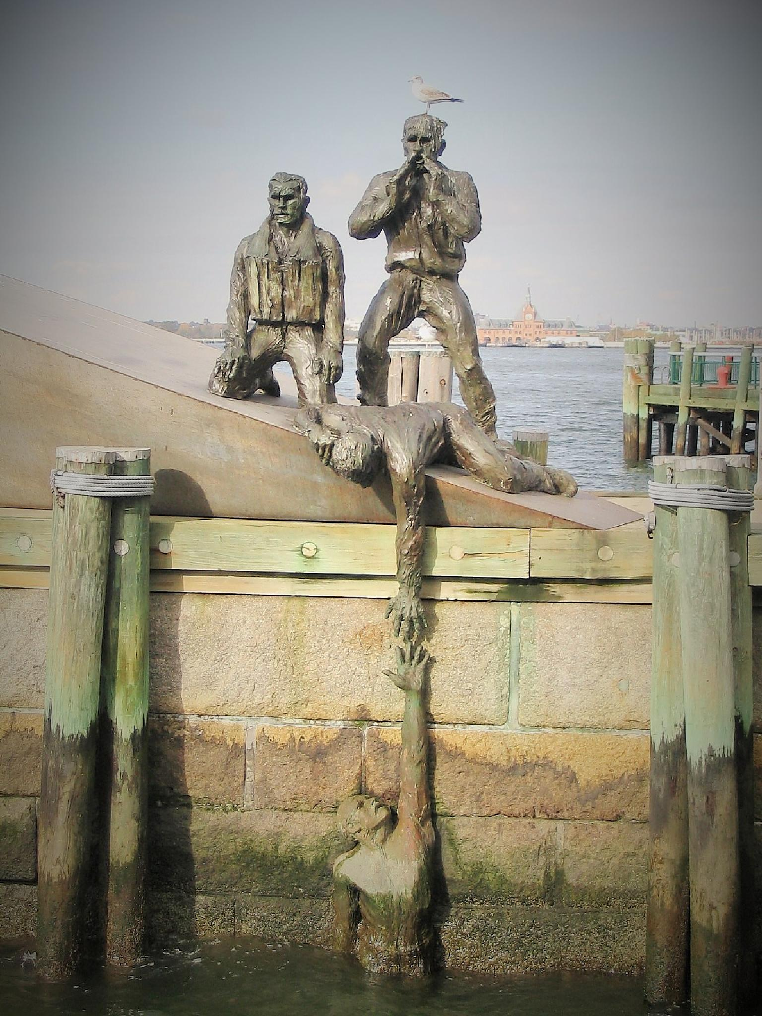American Merchant Mariners Memorial by silviosteinhaus