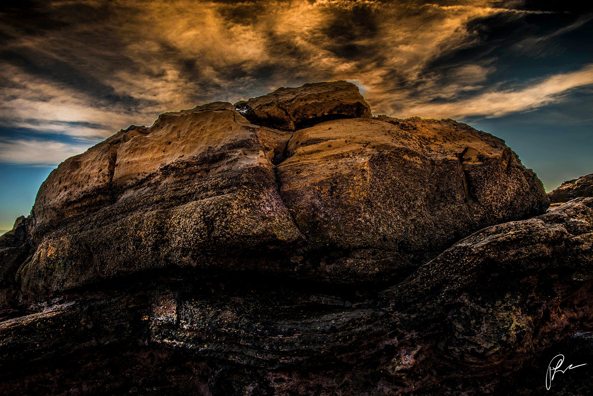 The rock  by Patricklee (aka) TheOfficialPatricklee