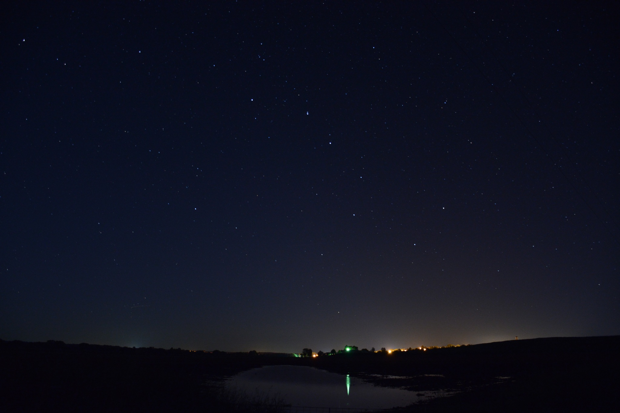 Big Dipper over my Home by roughneck1-9