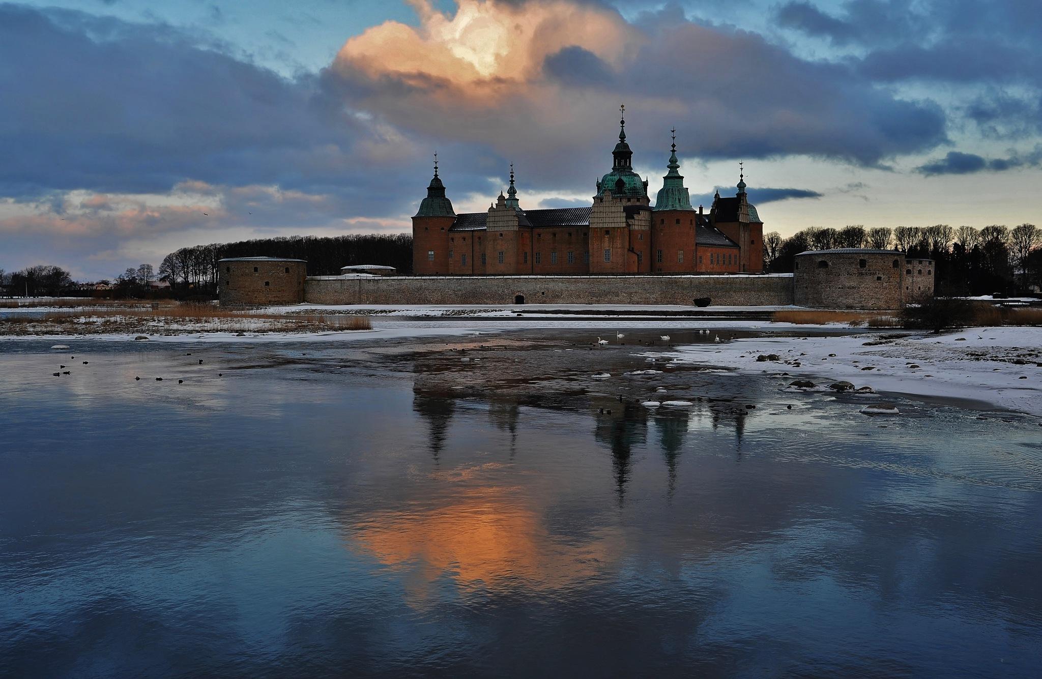 Kalmar -Slott .  by krillan54