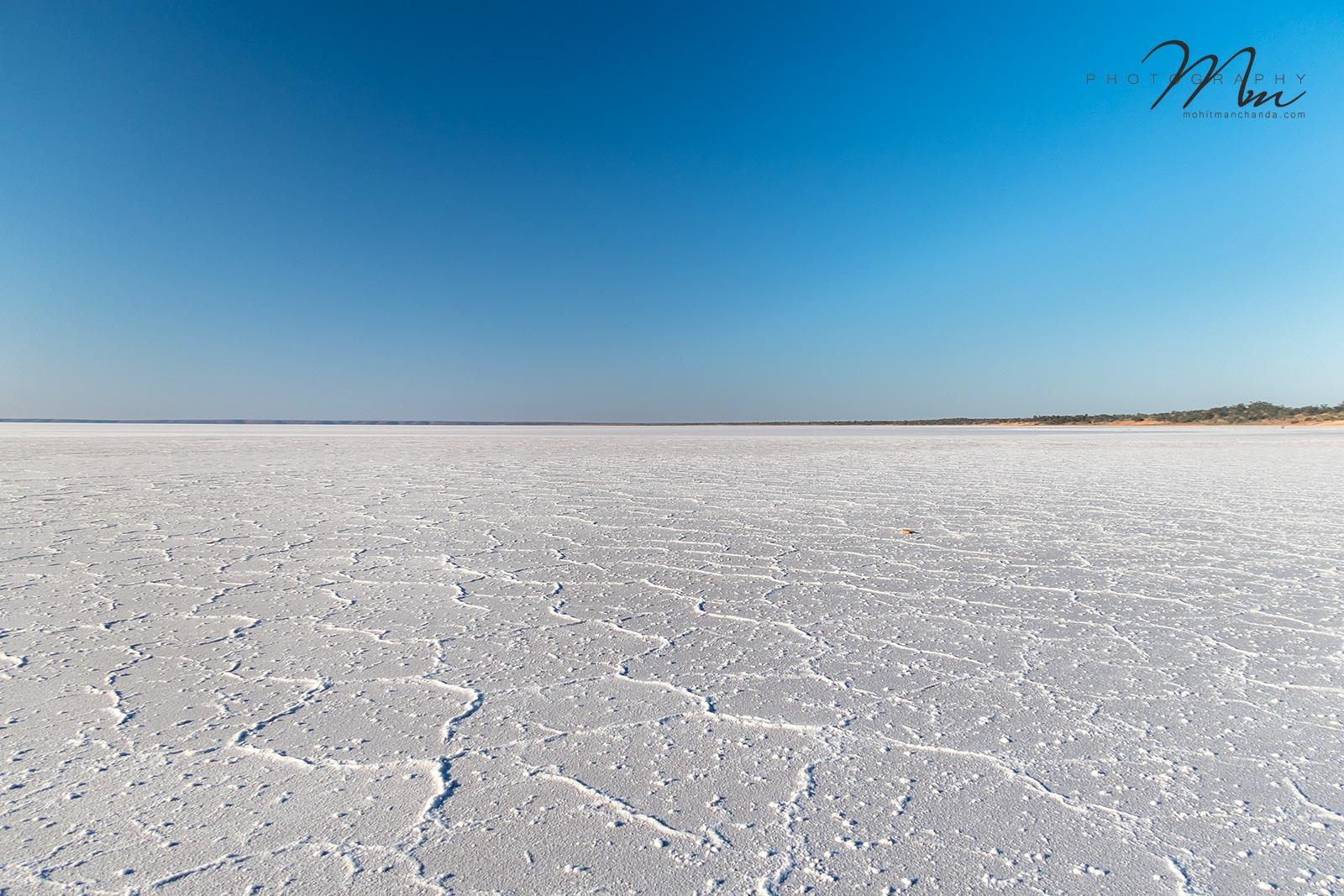 The Dried Salt Lake (Lake Hart, South Australia) by MMP