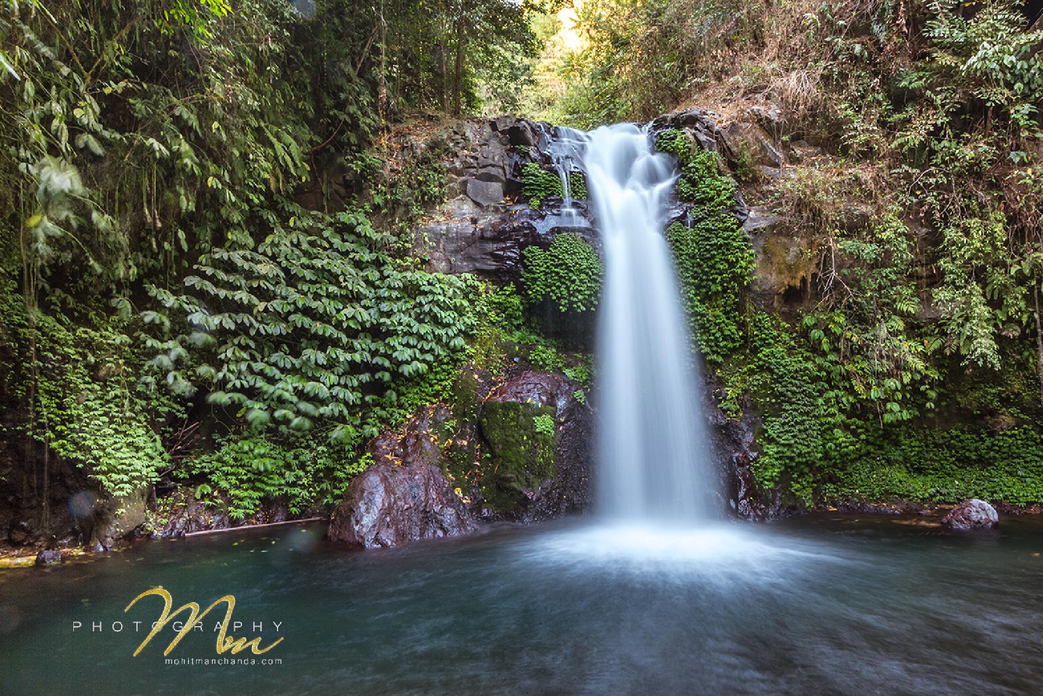 Gitgit Waterfall, Bali by Mohit Manchanda Photography