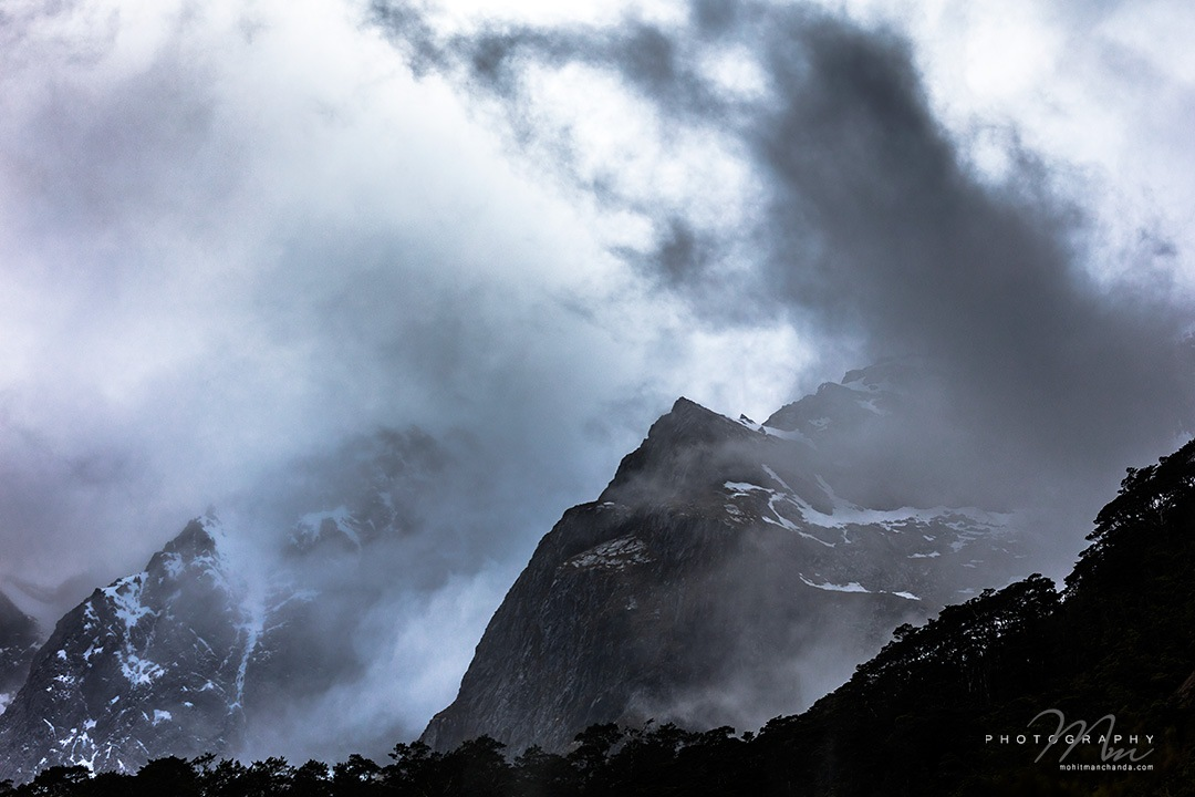 Milford Sound, South Island, New Zealand by Mohit Manchanda Photography