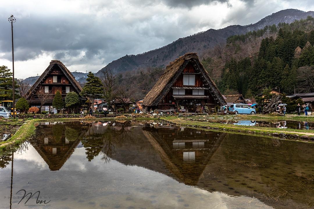 Reflections. The Historic Village of Shirakawa-go, Japan by Mohit Manchanda Photography