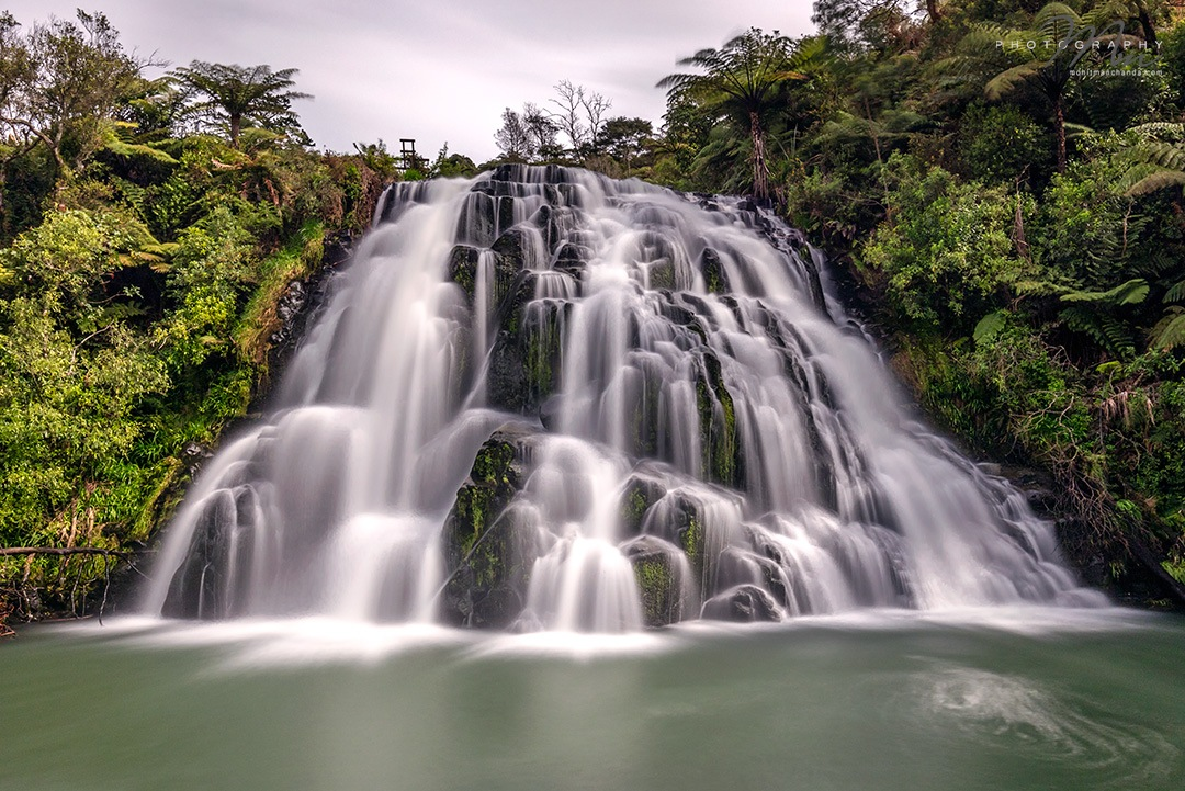 Owharoa Falls, New Zealand by Mohit Manchanda Photography