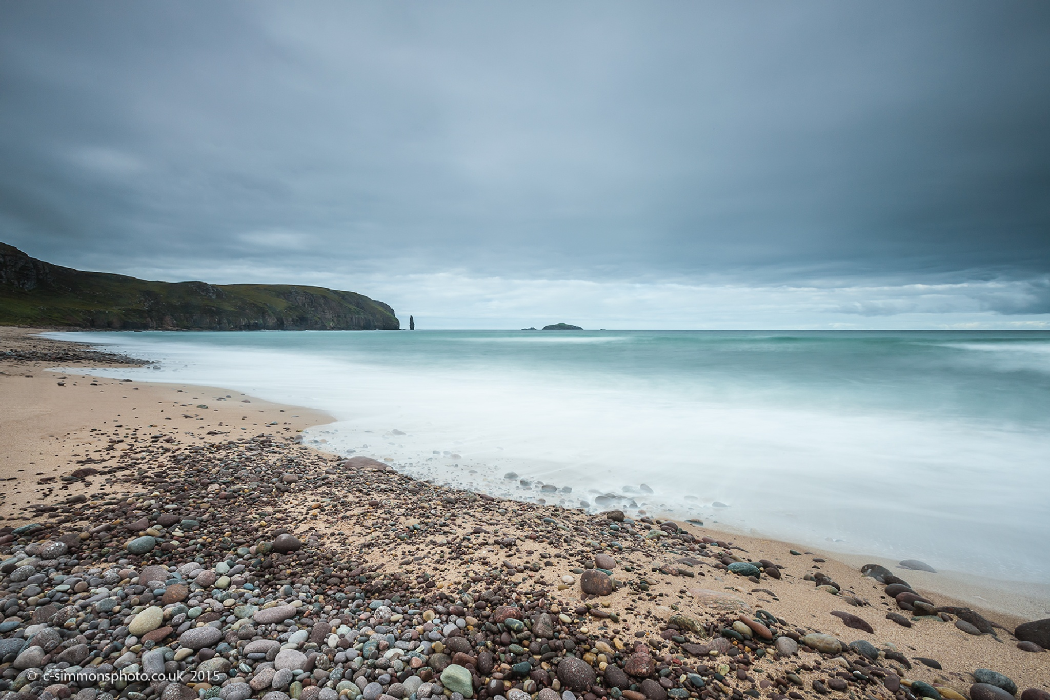 To Am Buachaille Stack - Sandwood Bay by Chris Simmons Photography