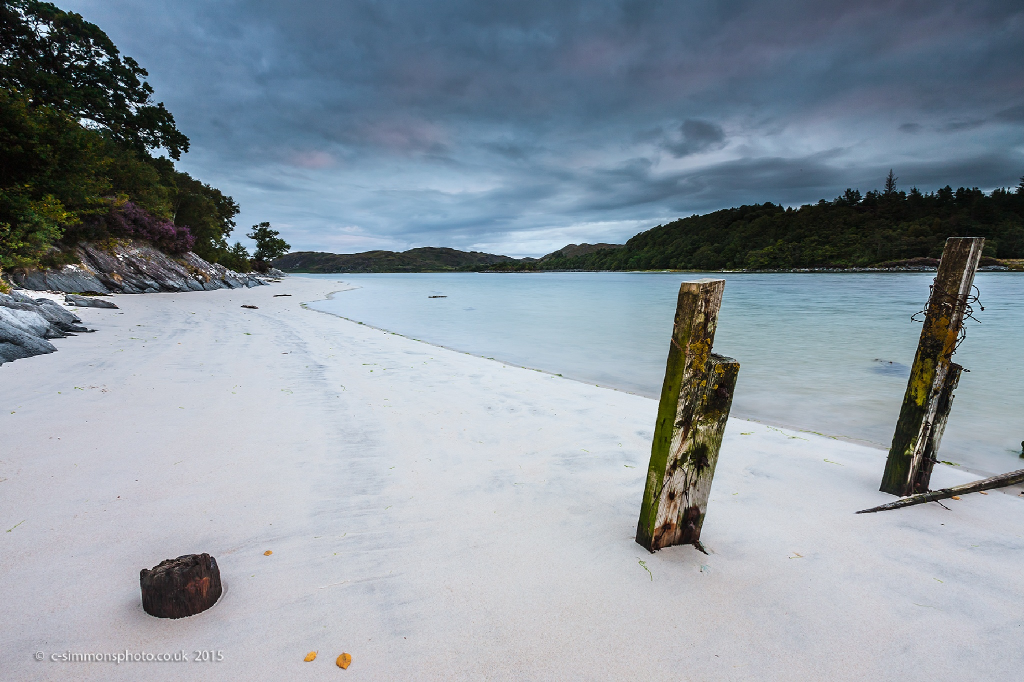 Silver Sands Bay by Chris Simmons Photography