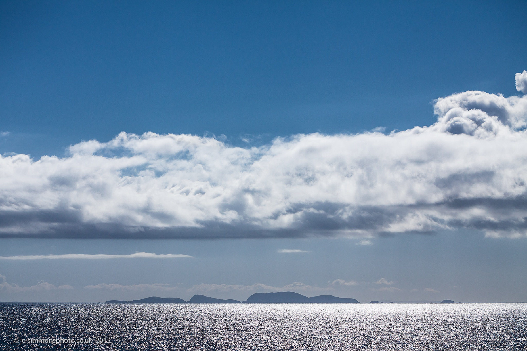 Shiant Islands Seascape by Chris Simmons Photography