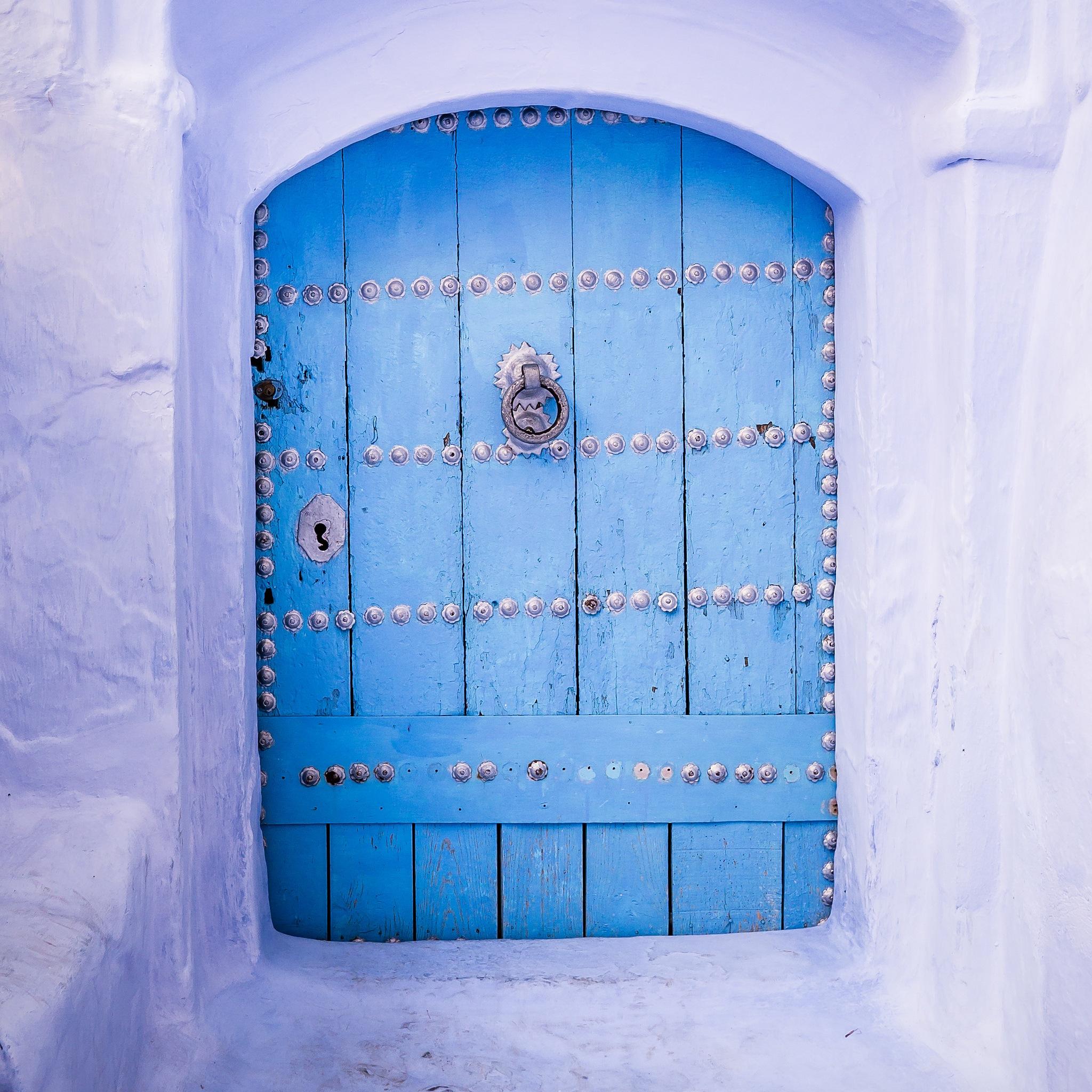 Blue Door by Aminefassi