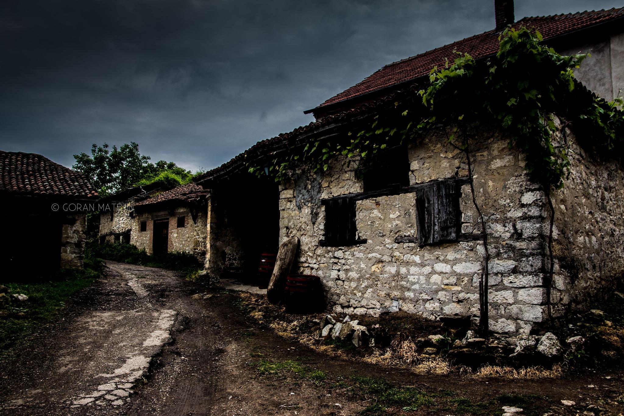 Old stone house by Goran Matejin