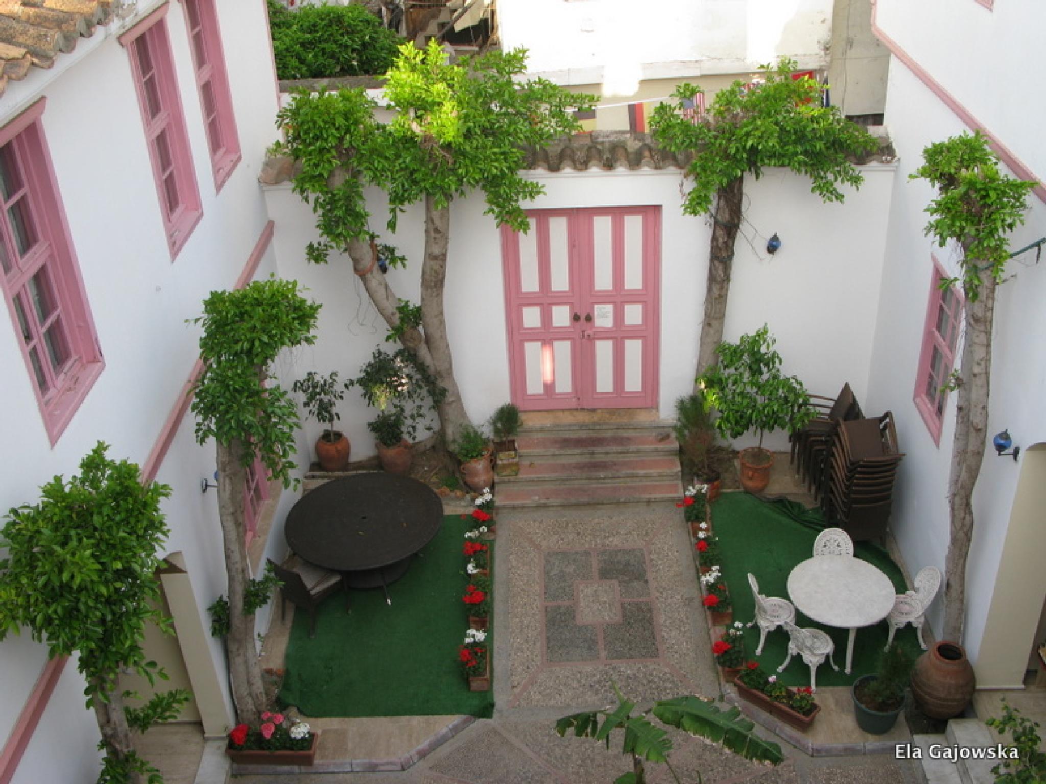 A patio in Antalya by Ela Gajowska