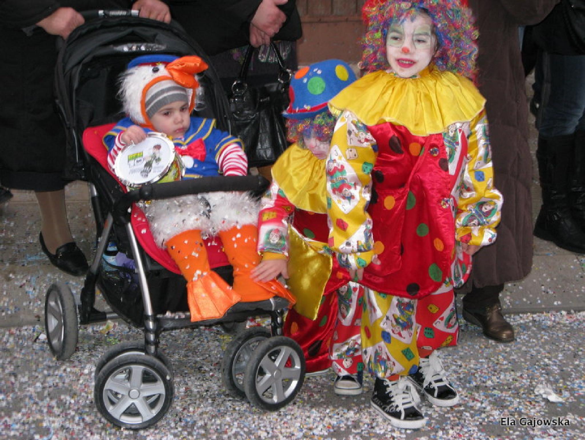 Carnival in Putignano, Puglia 3 by Ela Gajowska