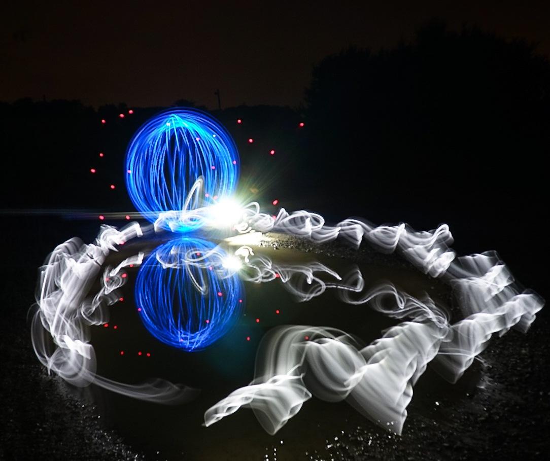 Lightpainting  by Peter Skouenborg