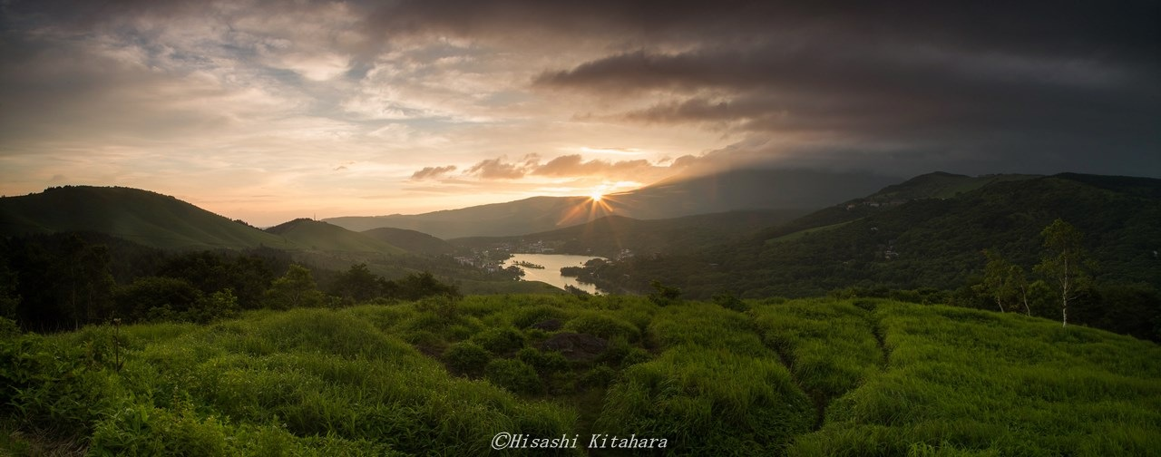 Wait for the sunrise by Hisashi Kitahara