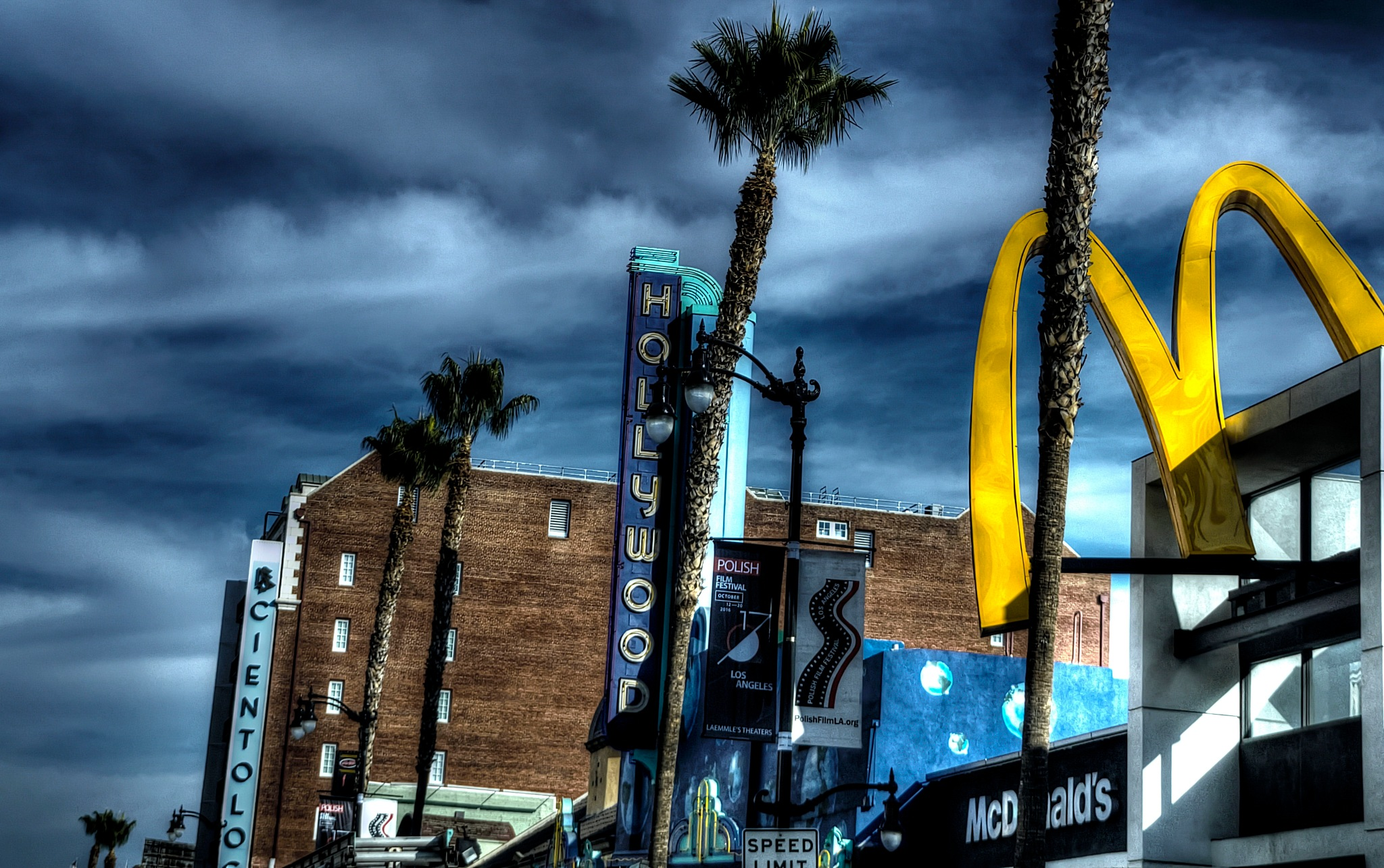 McDonald's Hollywood by WSimone