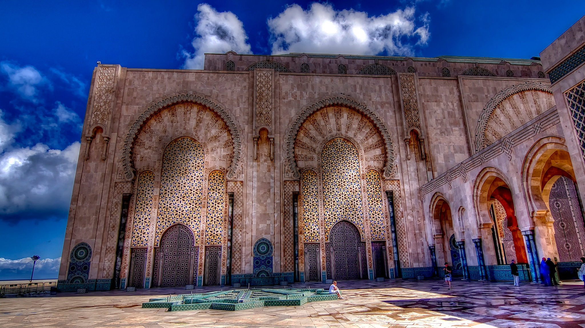 Mosque Hassan II by WSimone