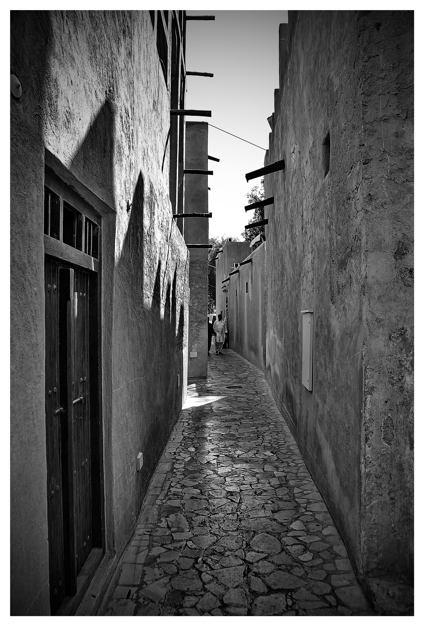 Photo in Black and White #viela #street