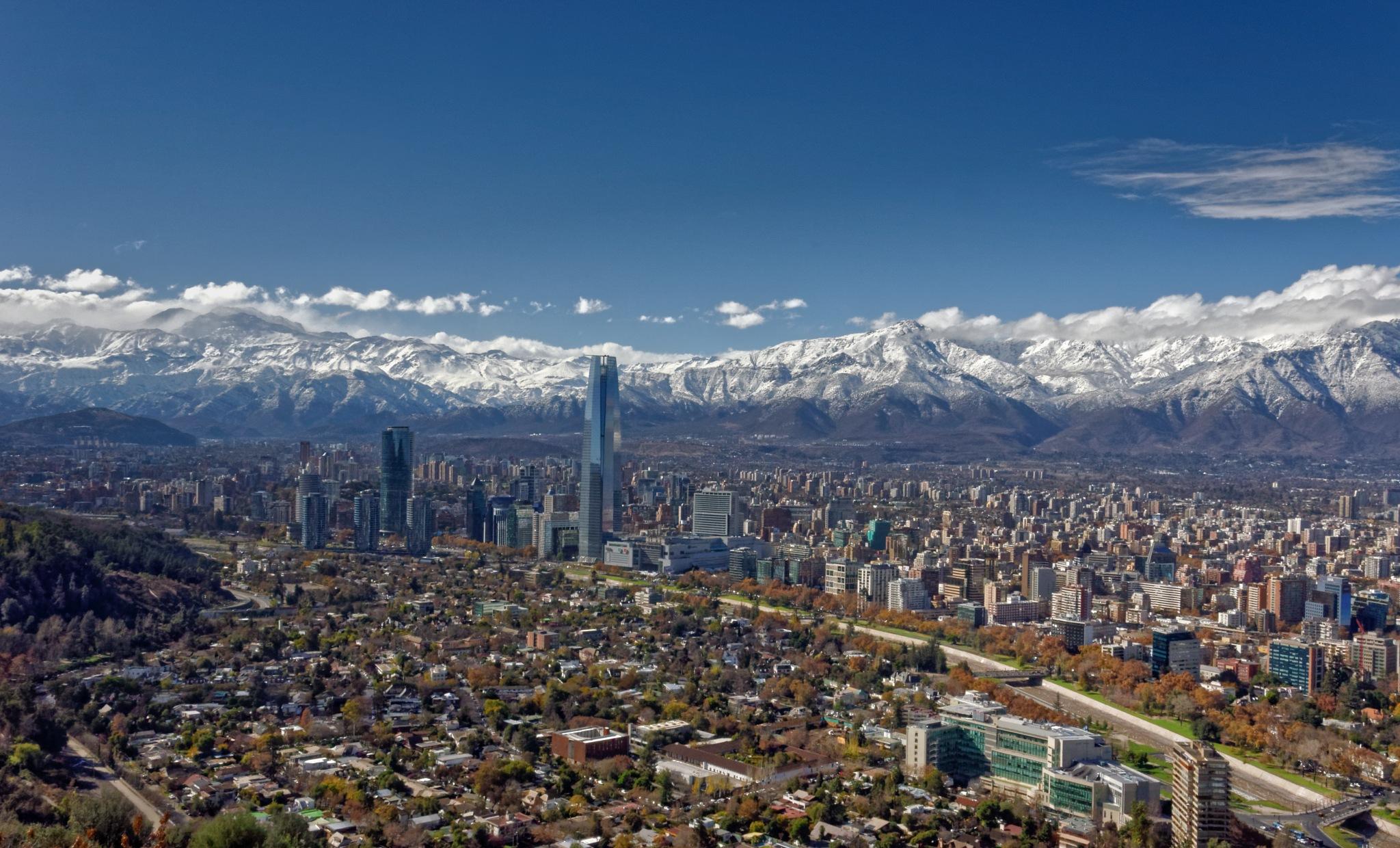 Santiago de Chile by Cristian Araya