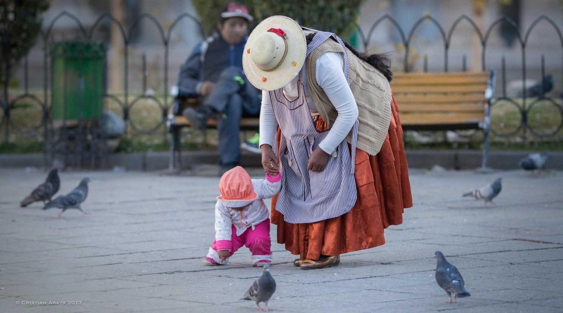 Bolivian People by Cristian Araya