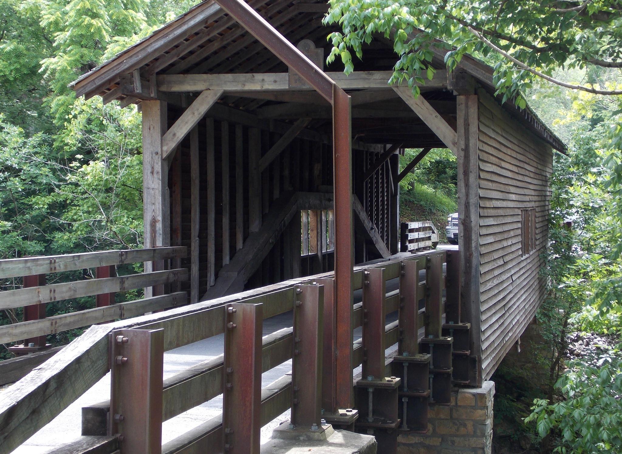 Harrisburg Covered Bridge by Victoria L. Smith