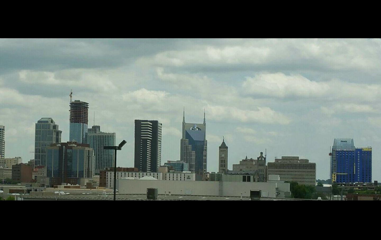 Batman Building and R2D2 by rso1958