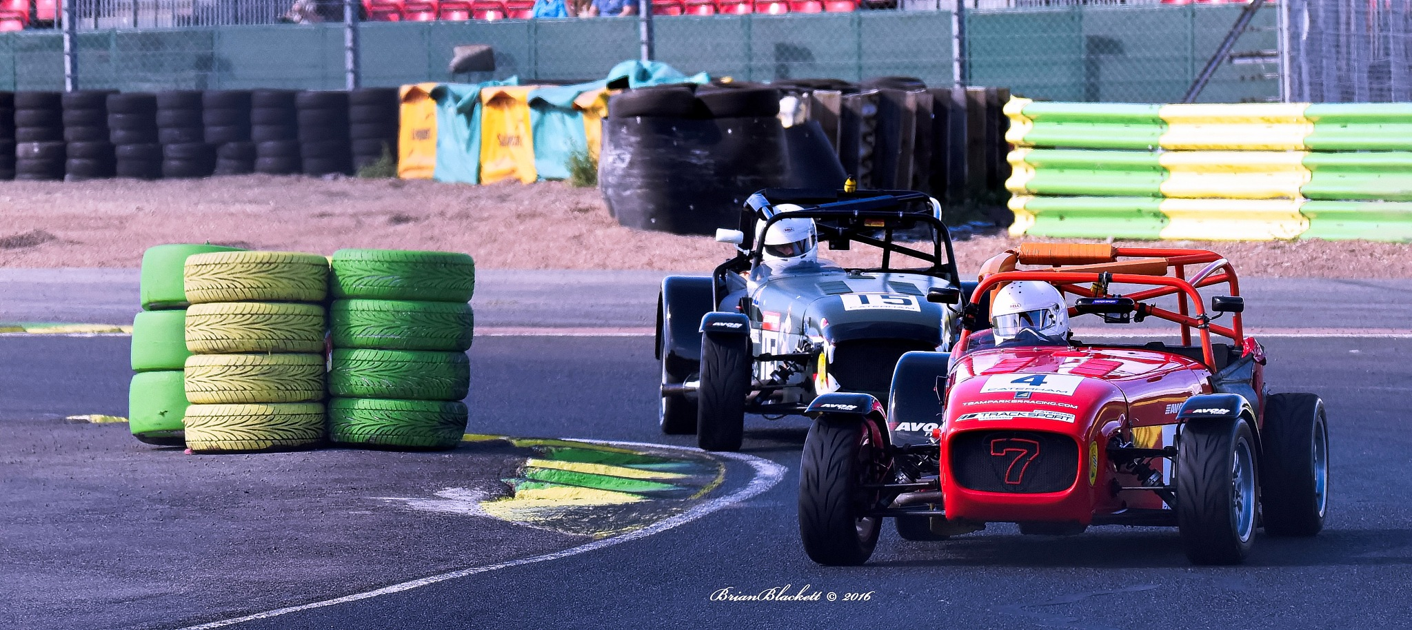 Caterham Racing Croft Circuit 2016 by brianblackett
