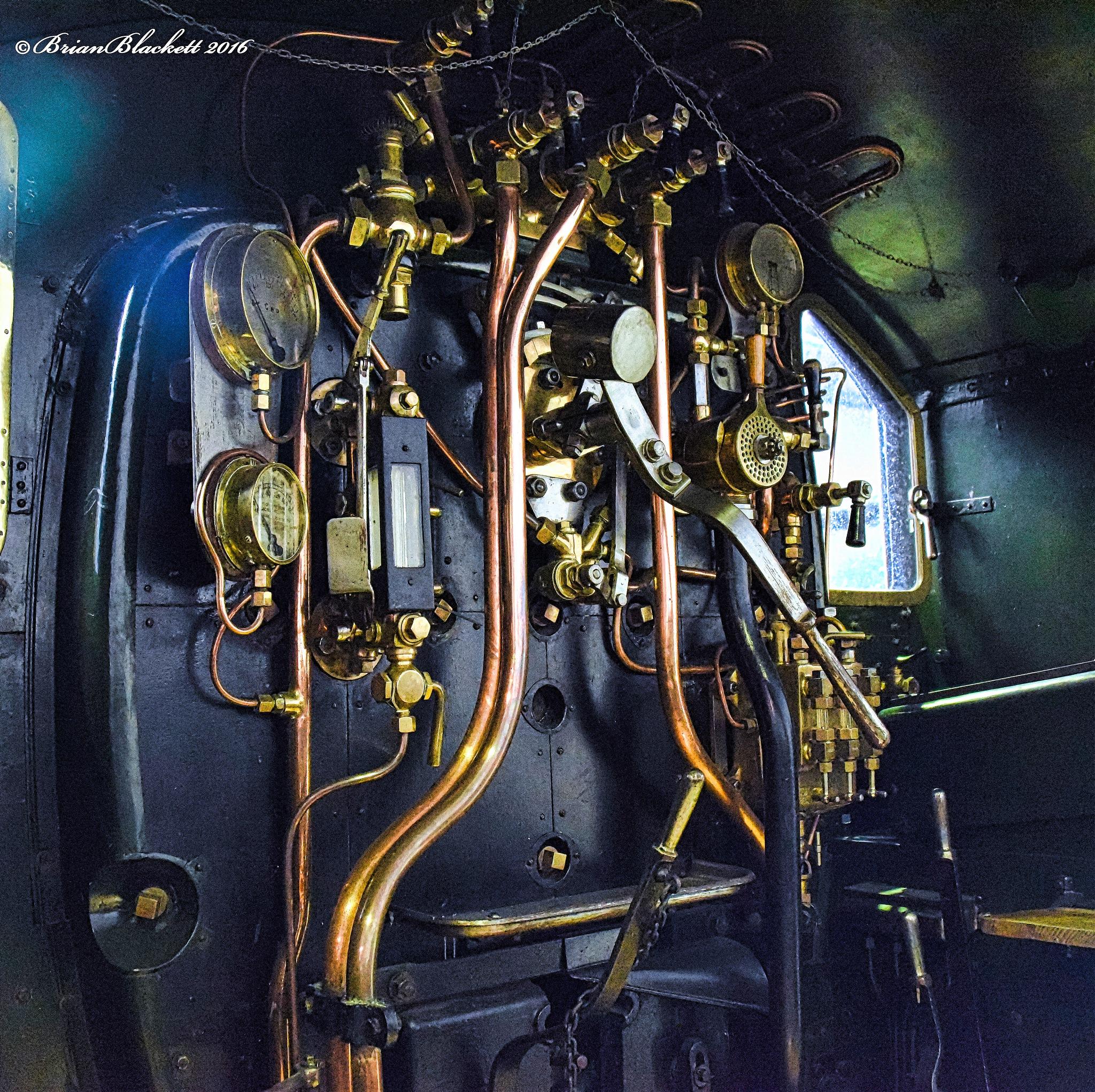 Steam Loco Controls by brianblackett