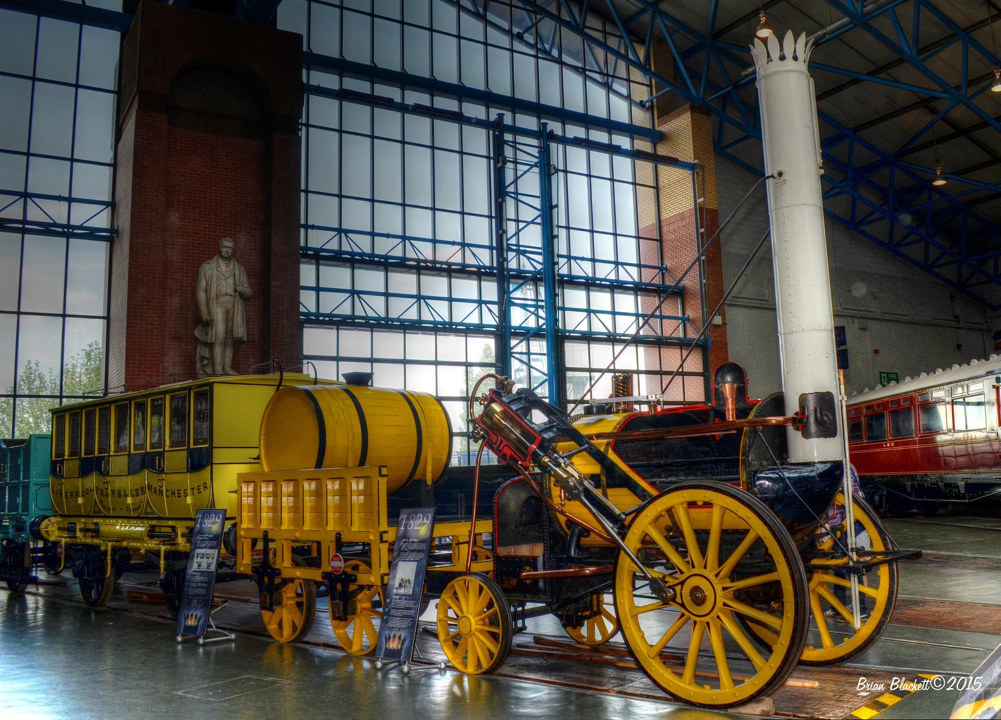 Early Steam Loco by brianblackett