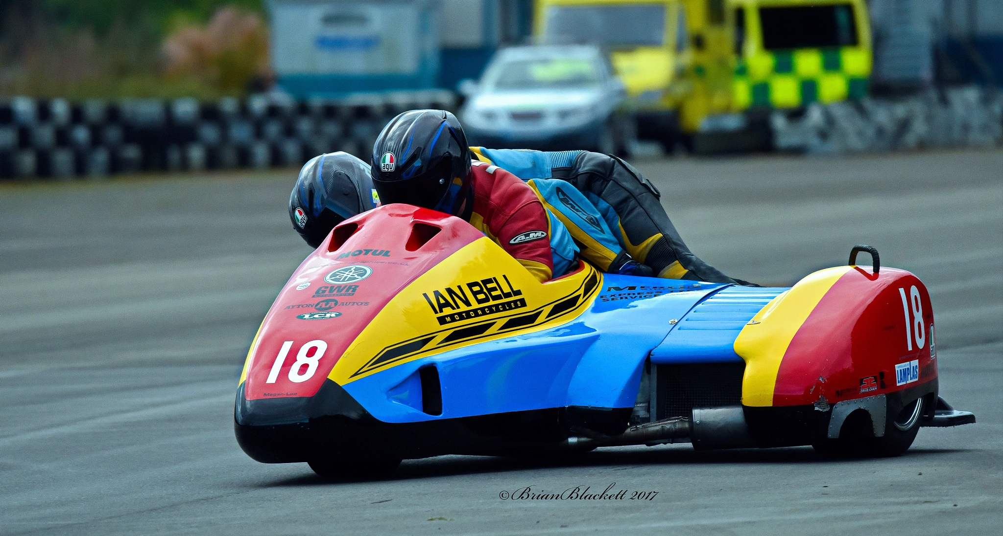 Sidecars @ NEMCRC Championships East Fortune Scotland  07/10/2017. by brianblackett