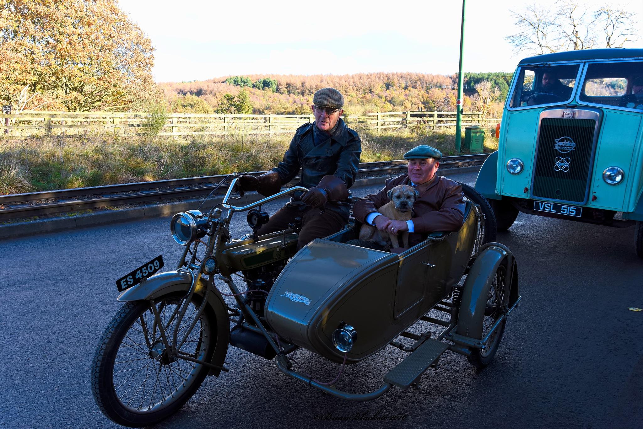 Sidecar From Yesteryear. by brianblackett