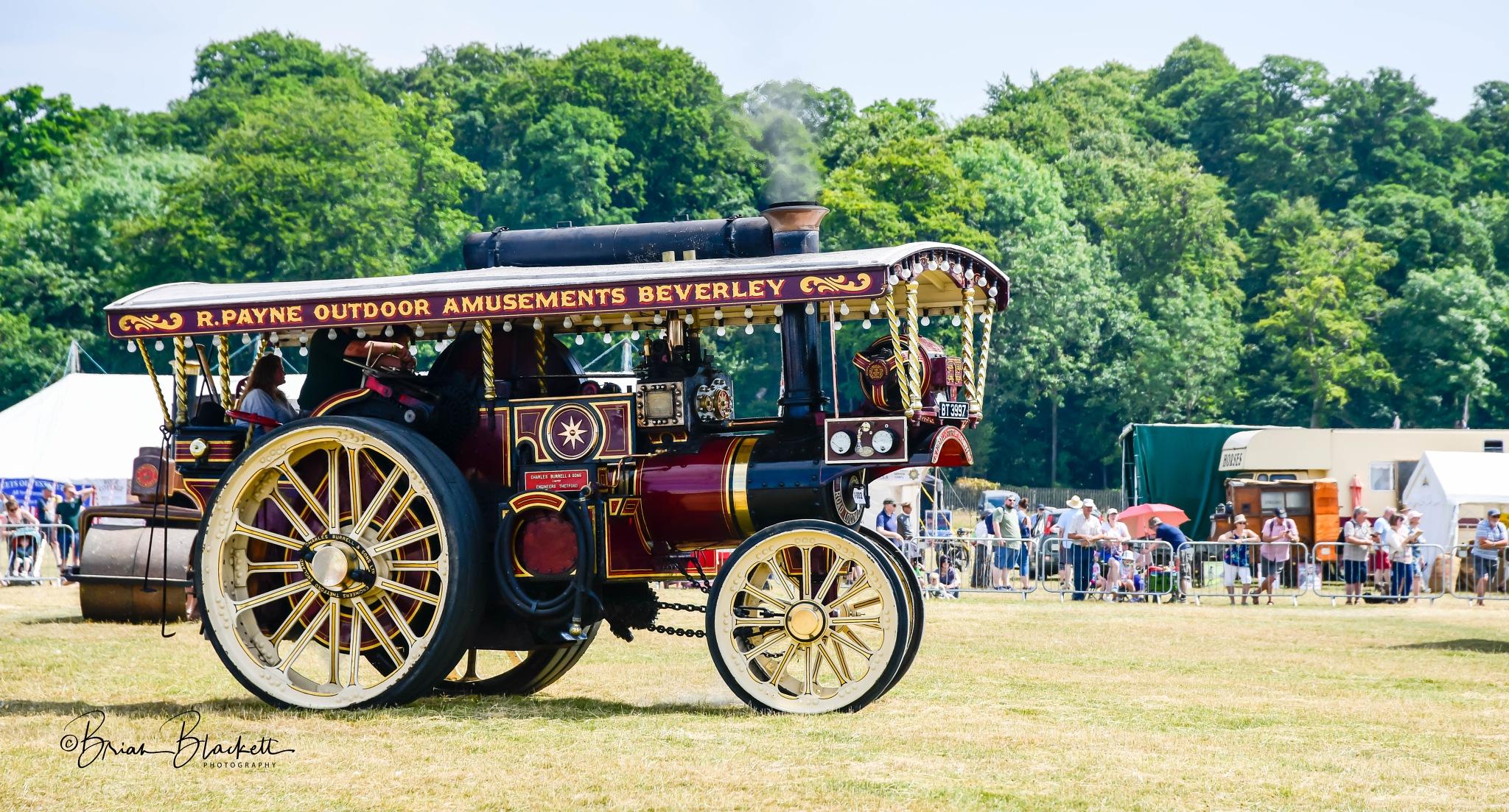 Steam Fair Duncombe Park North Yorkshire. by brianblackett