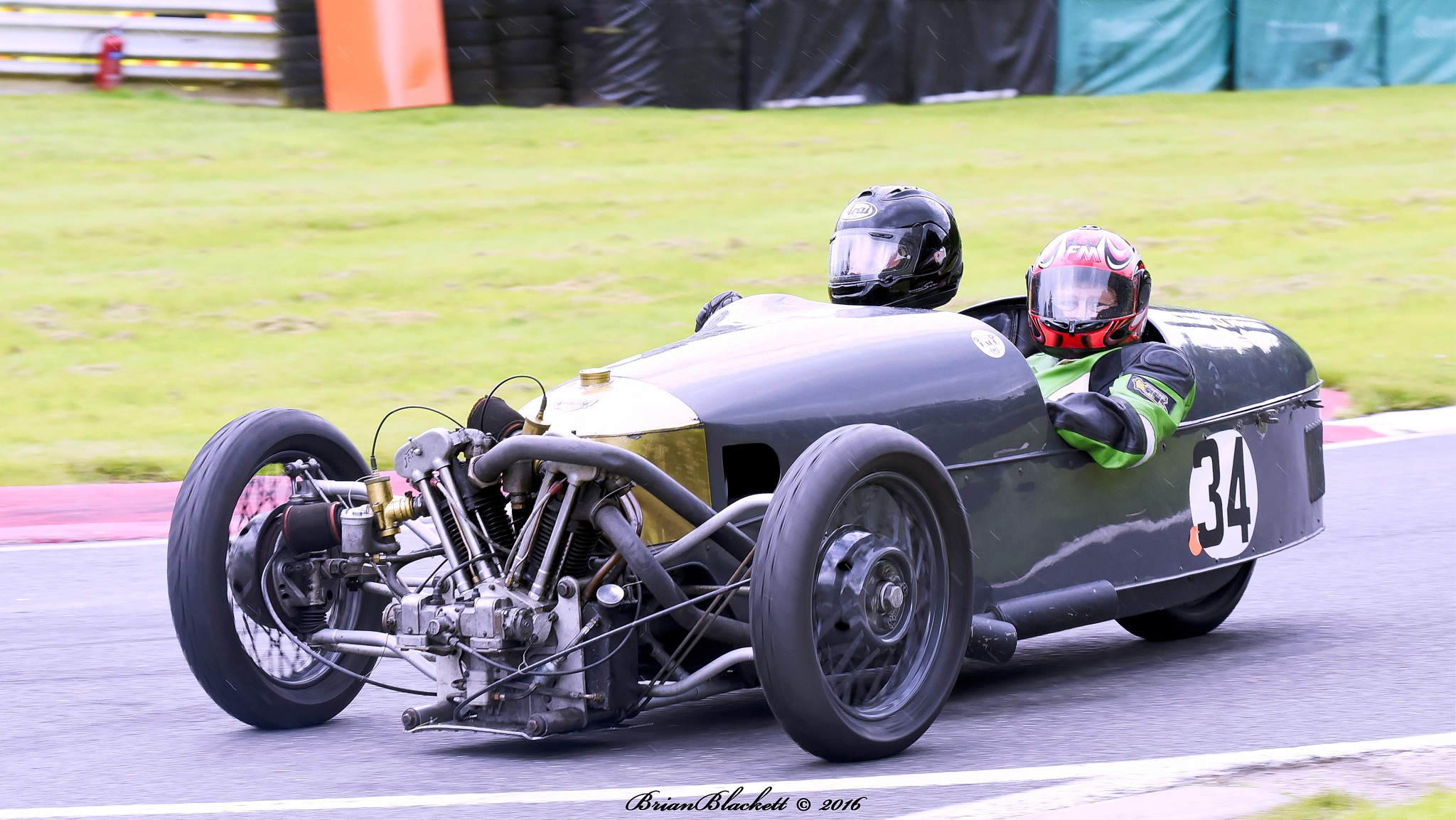 British Historic Racing Club Cadwell Park 2016 by brianblackett
