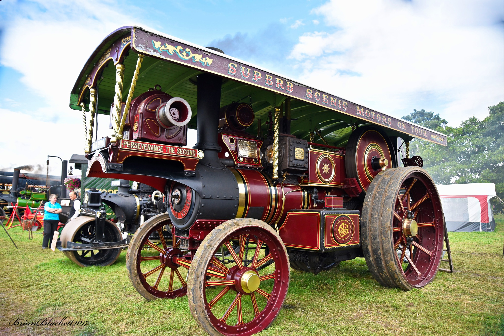 Hunton Steam Gathering Bedale North Yorkshire 2017 by brianblackett