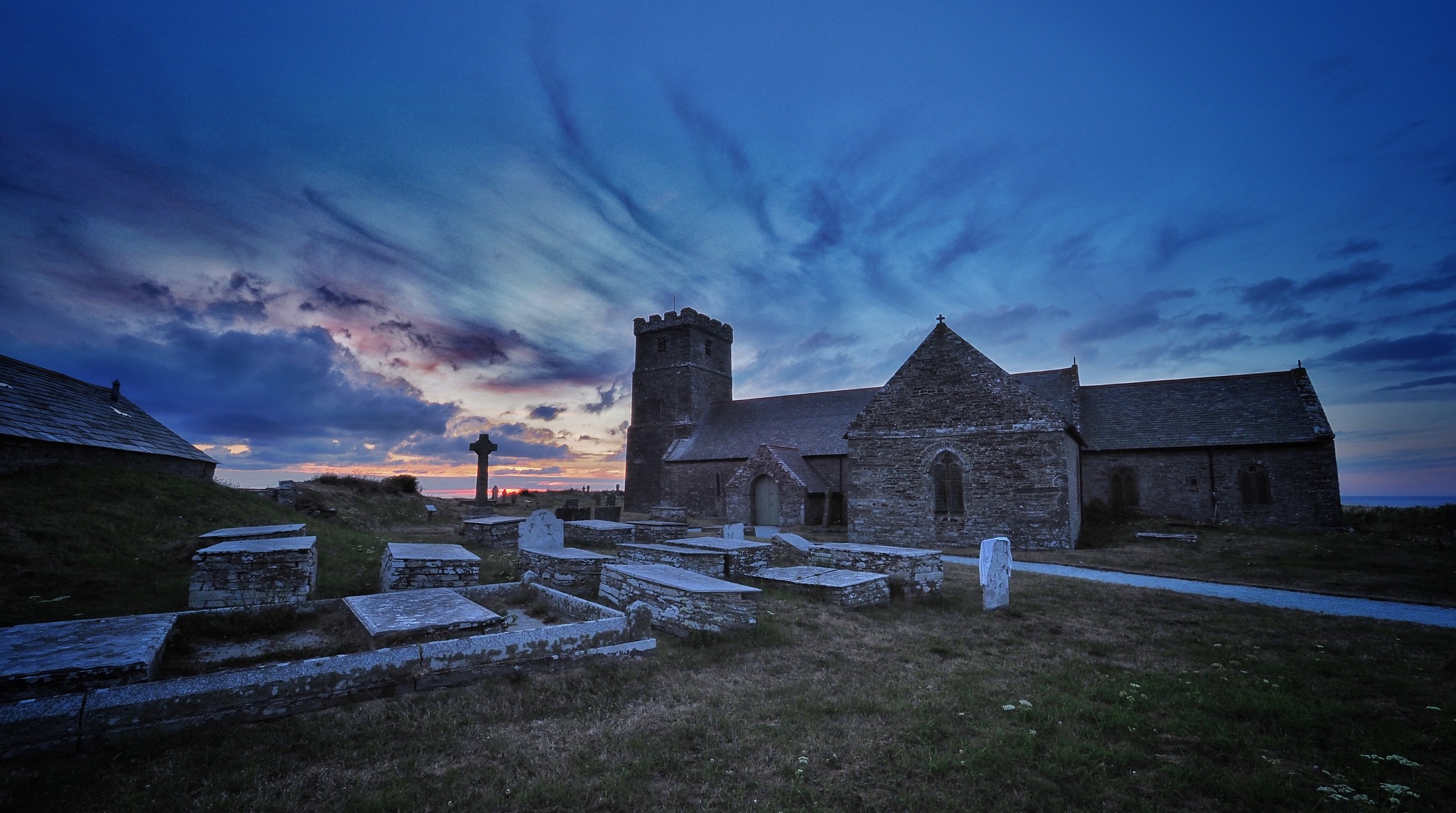 St Materiana's Church, Tintagel by Derek Thompson