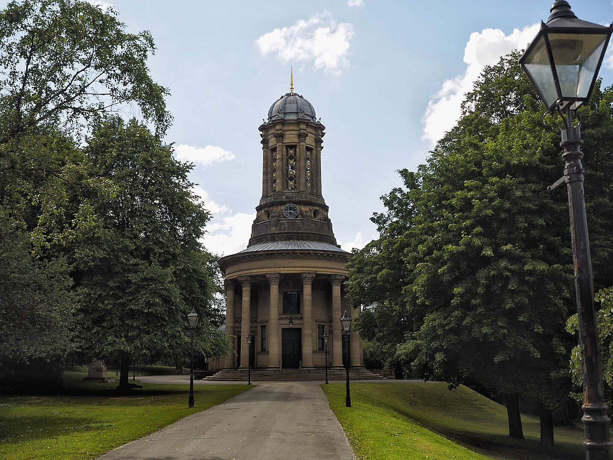 The United Reformed Church, formerly known as the Congregational Church - Saltaire by Derek Thompson