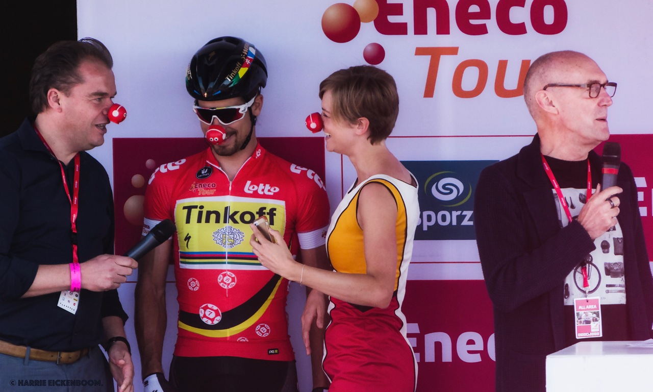 Enecotour 2016, Peter Sagan. by Harrie Eickenboom.