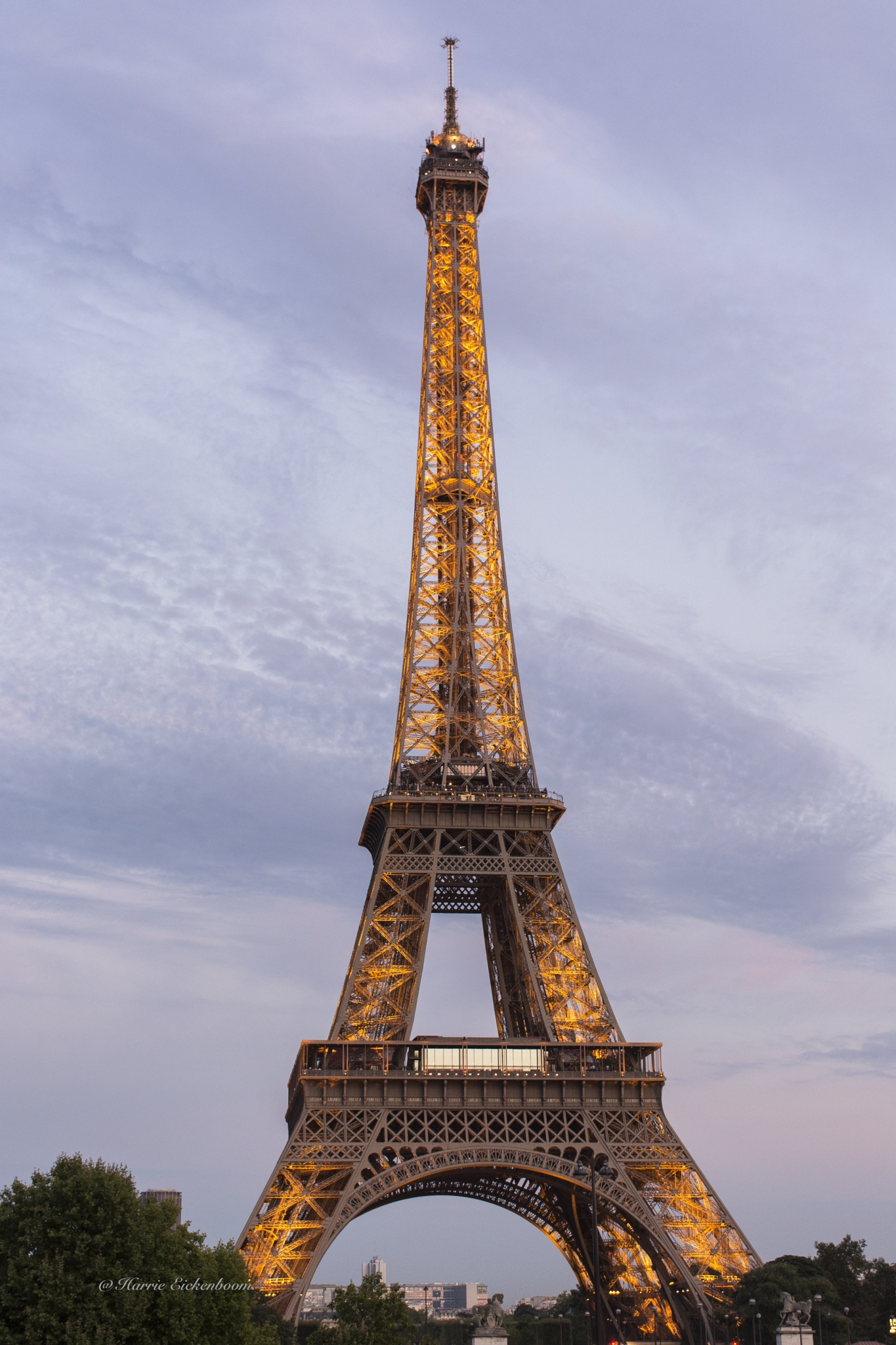 Eiffel Tower. by Harrie Eickenboom.