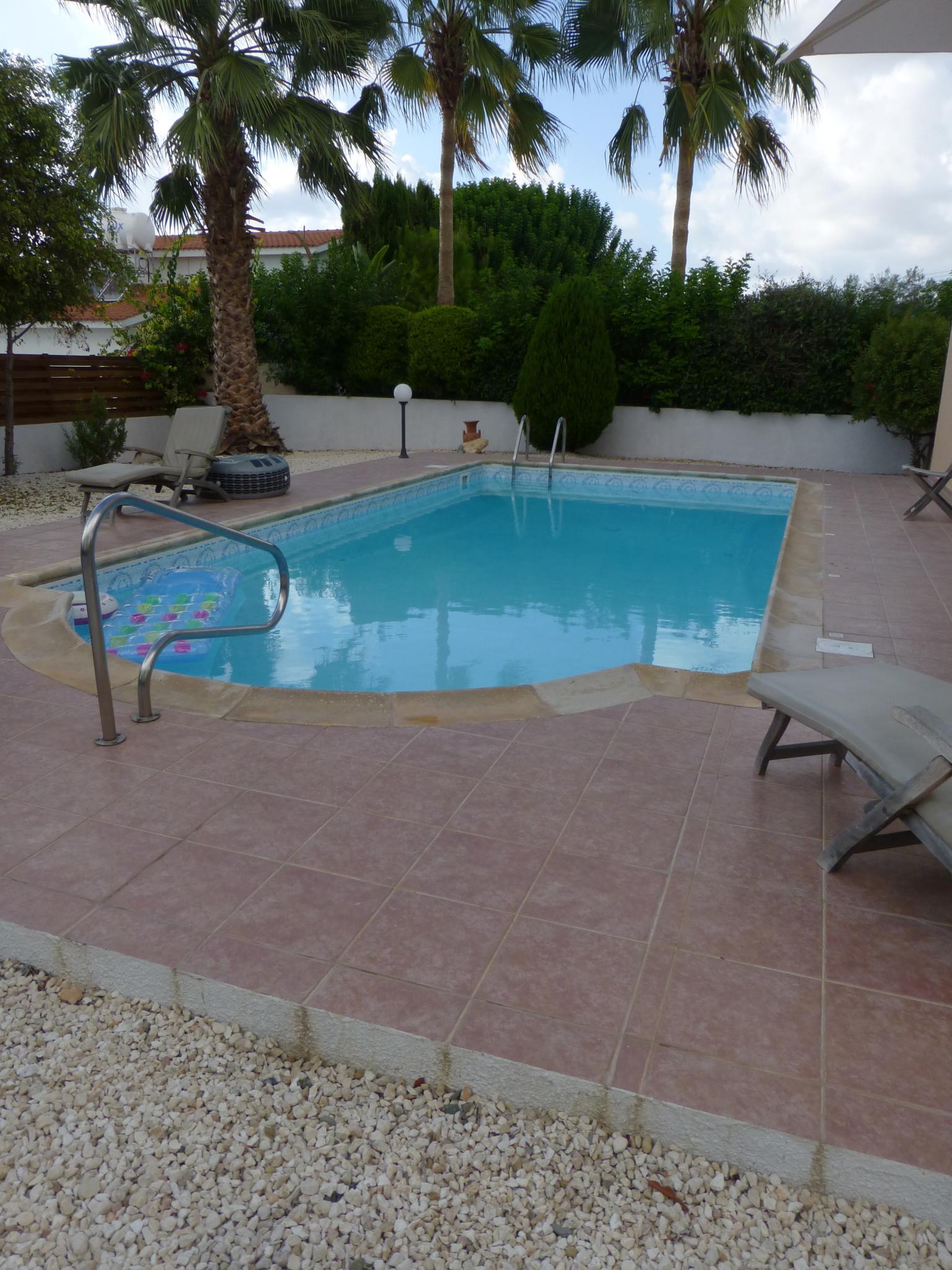 Swimming pool in Cyprus by laurahebbes