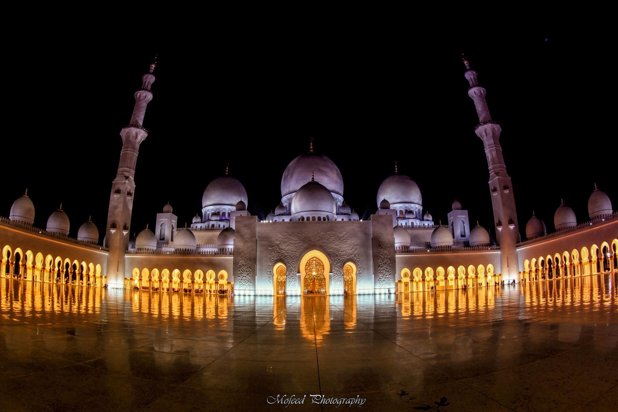 Sheikh Zayed Mosque by Mofeed Abu Shalwa