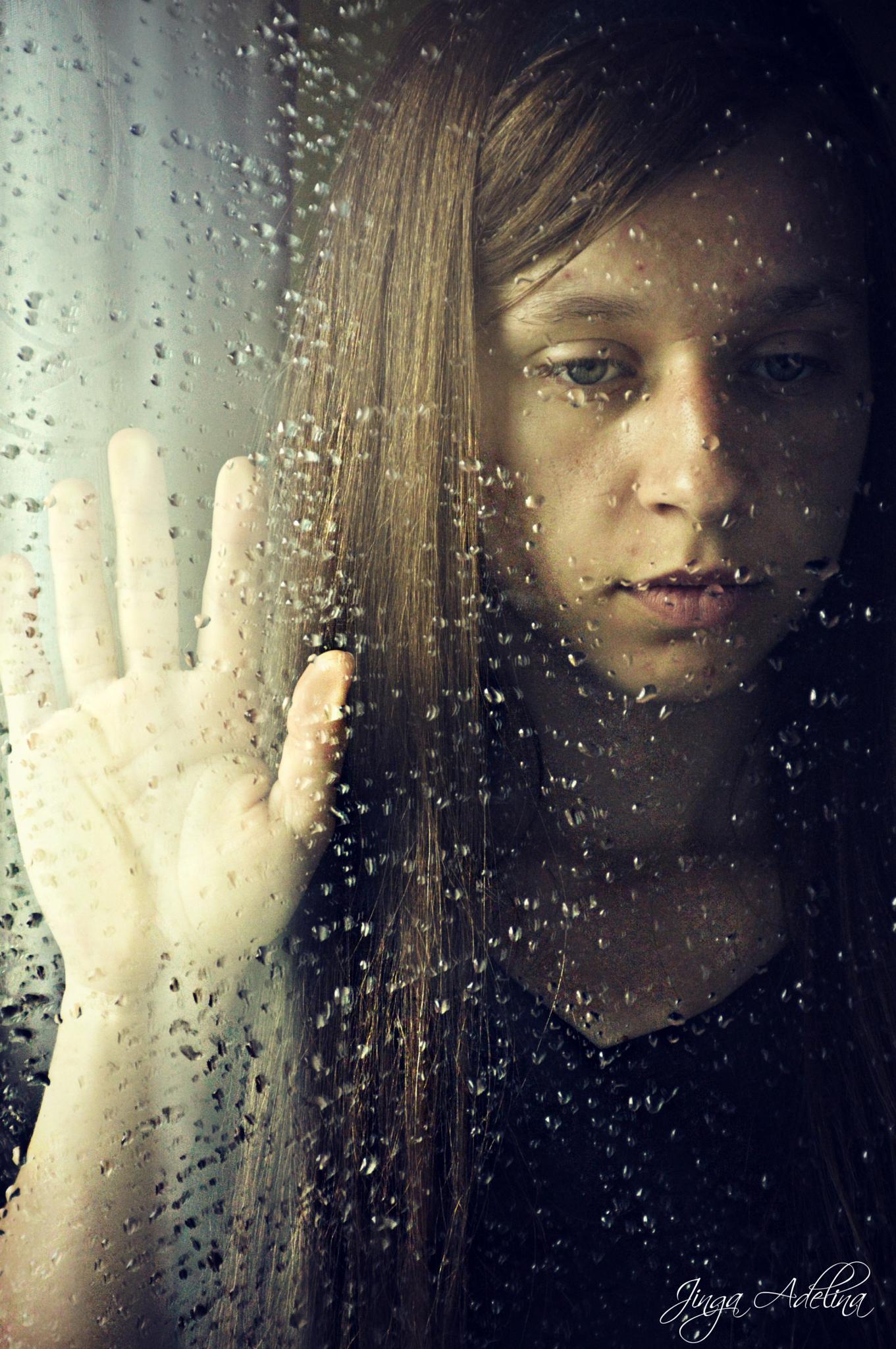 Rain whisper  by Adelina Jinga