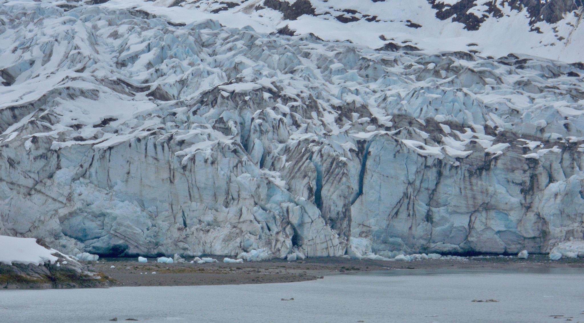 Glacier Bay Alaska by Malik Supreme