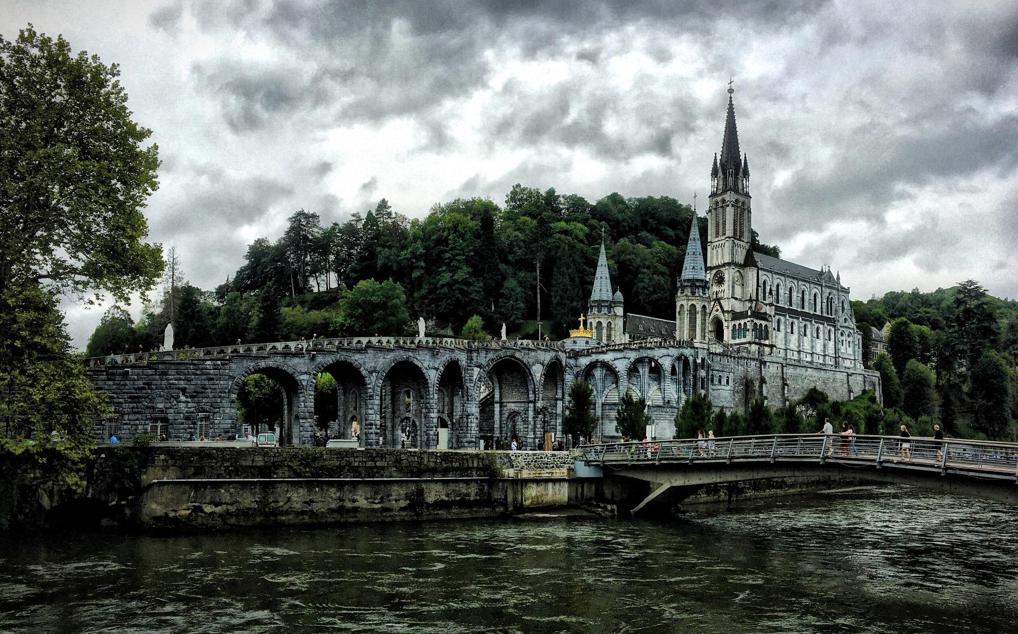 Santuario de Lourdes-HDR - Sanctuary of Lourdes-HDR - Santuario di Lourdes-HDR by cjcastromm