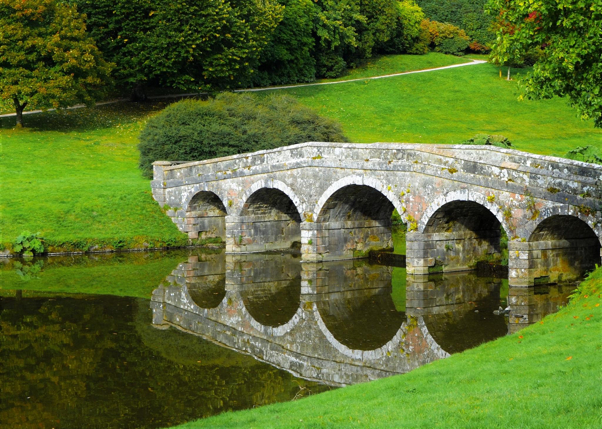 The old bridge by Helen Adams