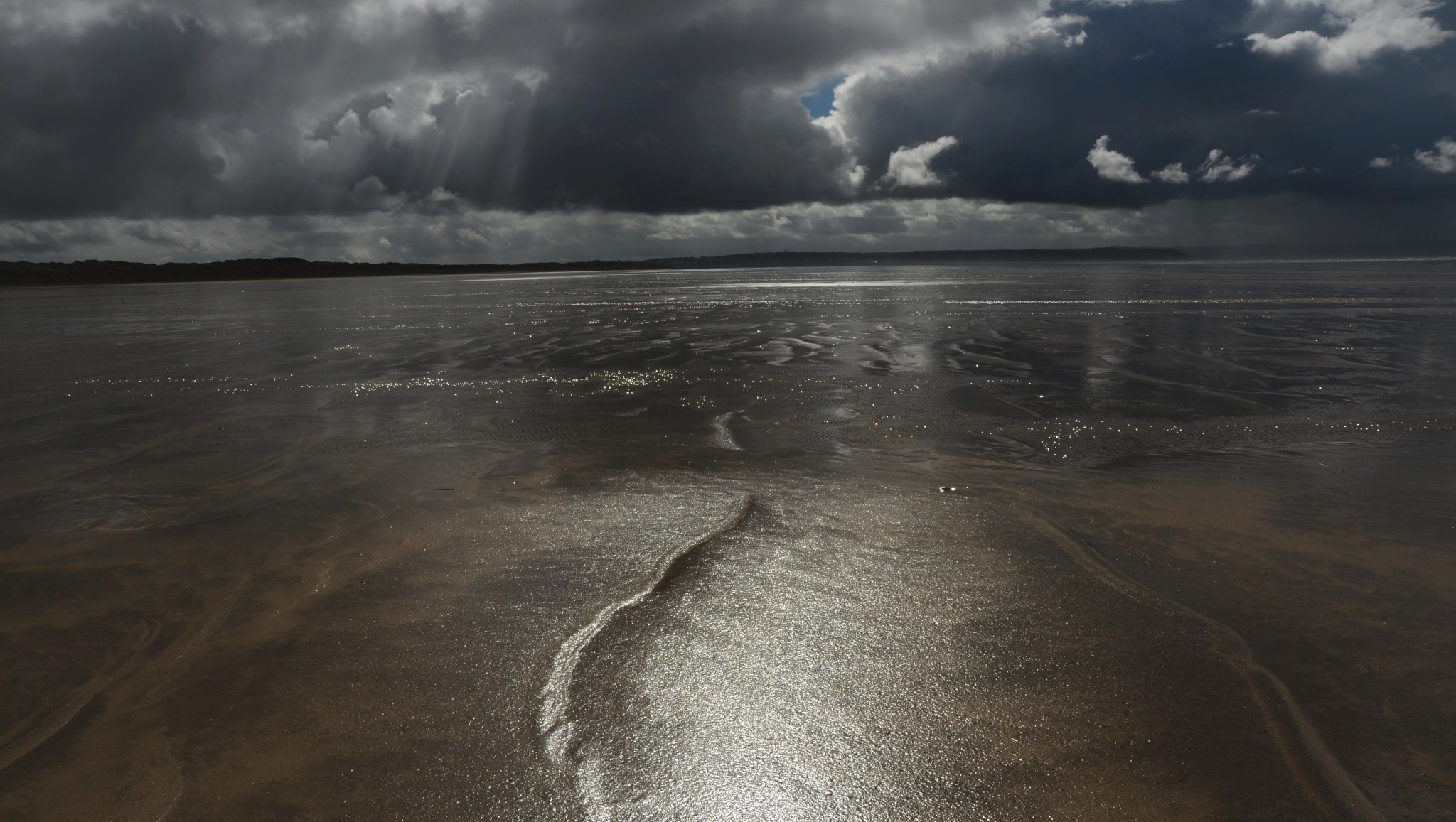 Golden sands by Helen Adams