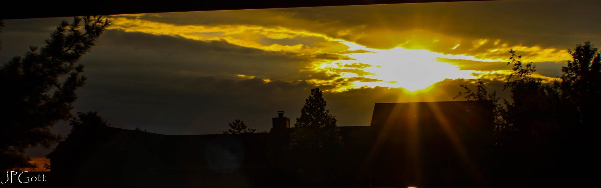 Sunrise in Wisconsin by JP Gott