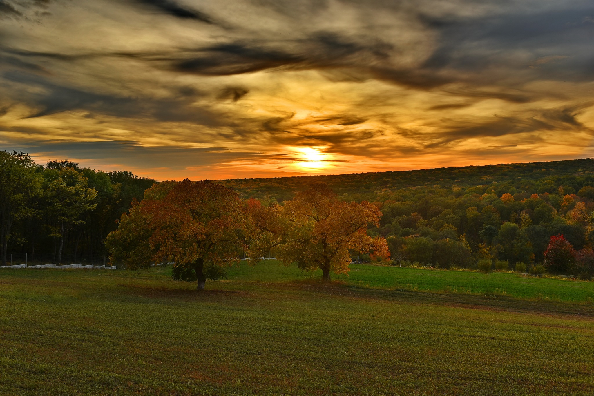 Sunset - Bujoreni Monastery by Sorin Lazar Photography